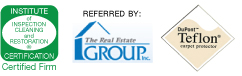 IICRC real estate group dupont teflon logo